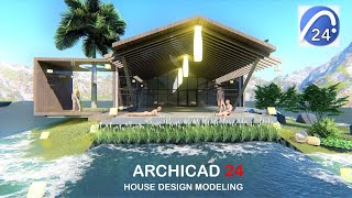 Archicad 24 - House Modeling