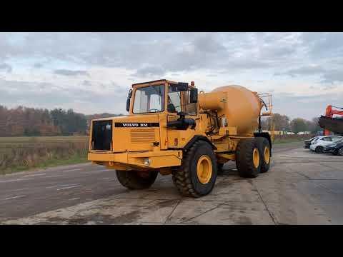 Used heavy machinery Volvo A25 Beton Mischer