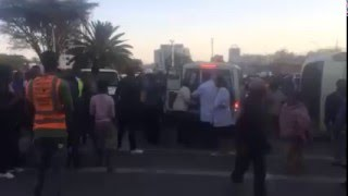 Ethiopia Tragic car accident at Churchill avenue
