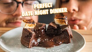 A Perfect 4 Course Date Night Dinner