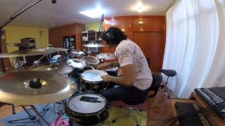 The faceless - The ancient covenant - Drum cover - Jorge Arriaga 2014