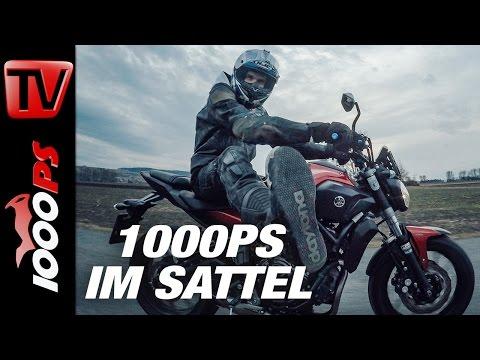 1000PS im Sattel - Yamaha MT-07 Tuning - Neues Fahrwerk, neuer Auspuff, neue Teile