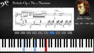 Chopin - Op. 9, No. 2. Nocturne (Learn to play)
