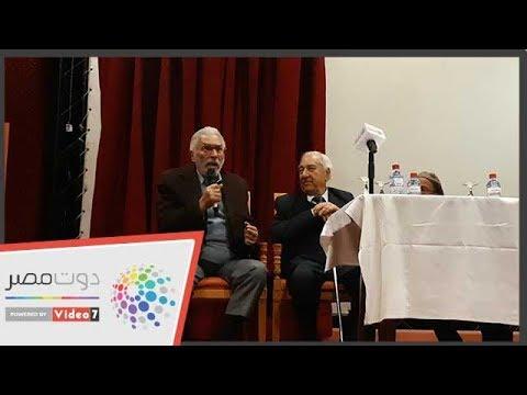كيف أضحك الفنان عبدالرحمن أبوزهرة الحضور بمؤتمر -أيام قرطاج المسرحية -  - 13:54-2018 / 12 / 14