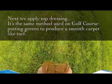 New Castle Lawn And Landscape Aeration Top Dressing