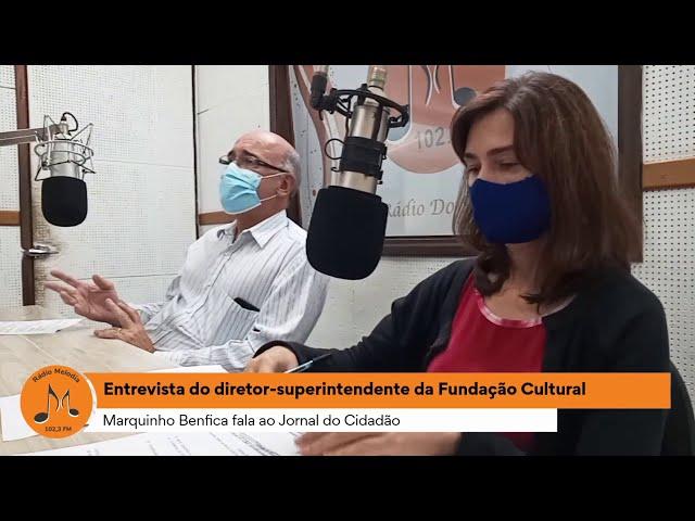 Entrevista Marquinho Benfica - Rádio Melodia FM