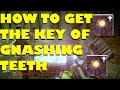 """Destiny - How To Get The Key Of """"GNASHING TEETH"""" and open the dreadnaught hidden chest"""