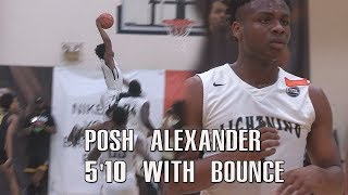 5'10 Posh Alexander Has DUMB BOUNCE! NYC PG Does Work At Peach Jam! Full Highlights