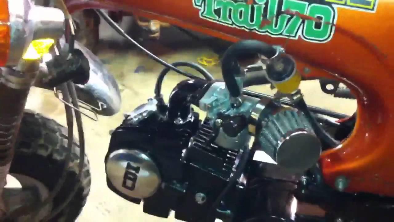 1974 Honda CT70 Lifan 125 Swap  YouTube