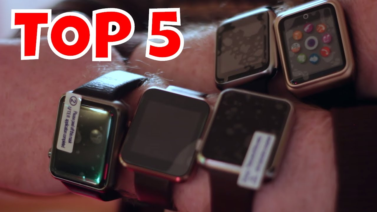 TOP 5 Best Smartwatches Review: DWatch 2, W8, RWATCH ...