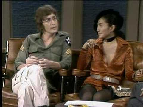 John Lennon and Yoko Ono Dick Cavett Show Excerpt 1 of 6
