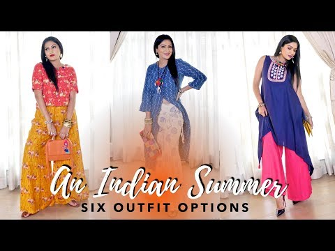 INDIAN SUMMER OUTFITS | Sonal Maherali