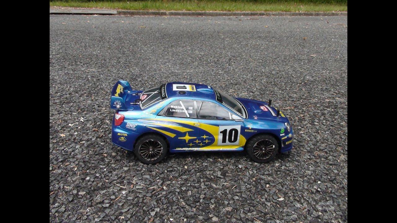 Traxxas Nitro 4 Tec Custom Rally Car