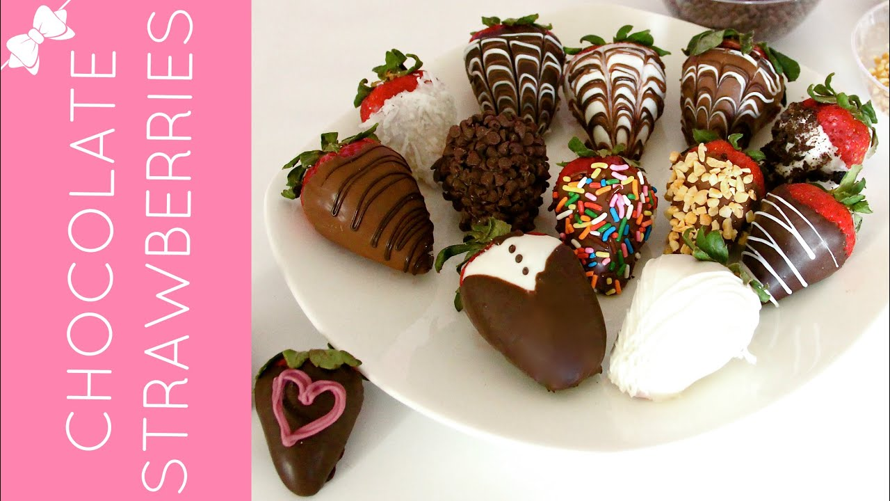 How To Make Beautiful, Gourmet Chocolate Covered Strawberries ...