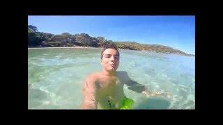GoPro Hero 4 Vacances Île de porquerolles 2015
