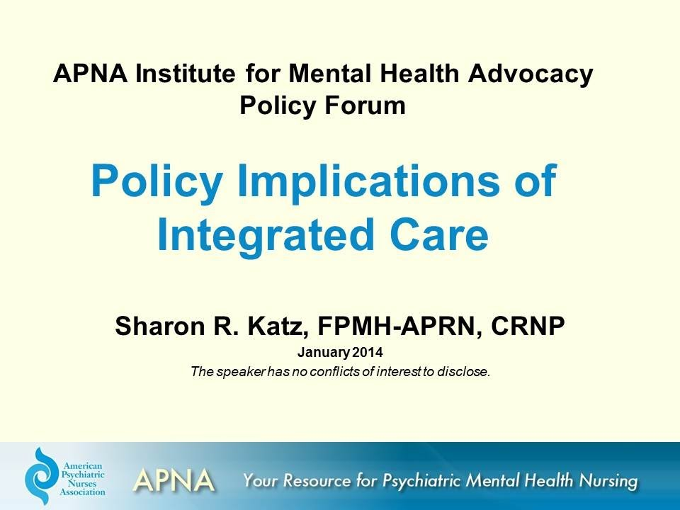 Institute For Mental Health Advocacy Policy Forum Policy