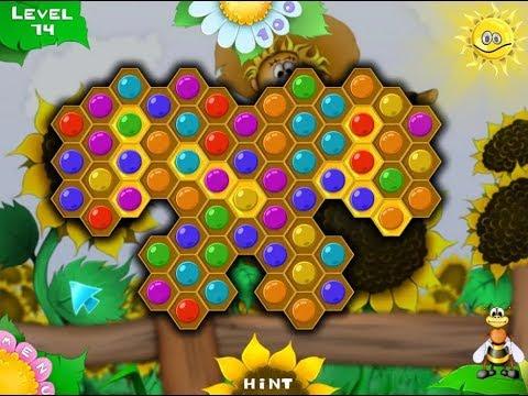 Пчеловоломка Прохождение полная версия / Beezzle