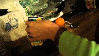 how to make frozen orange juice -momas cooking.