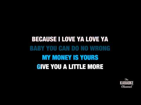 "Love Me in the Style of ""Justin Bieber"" karaoke video with lyrics (no lead vocal)"