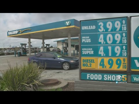 Bay Area Gas Prices Spiking