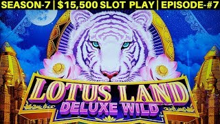 DRAGON Fury Slot Machine BIG WIN | Lotus Land Slot Machine Max Bet Bonus | SEASON-7 | EPISODE #7