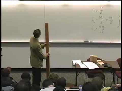 ARCH 324 - Design of Wood Beams - Lecture 1