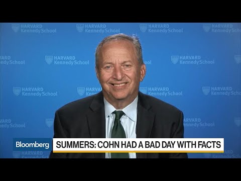Larry Summers on Tax Reform, Gary Cohn's Credibility