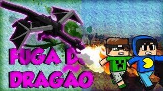 Minecraft: Fuga do Dragão - O RAGE!