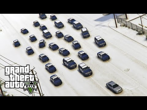 GTA 5 - LSPDFR NEW YEAR'S SPECIAL! LSPD Blaine County Blizzard Mountain Patrol! Episode #158