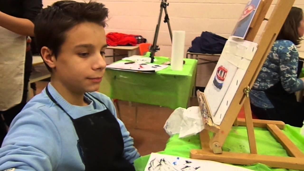 Cours de peinture la spatule avec claudia mandl youtube for Peinture a la spatule