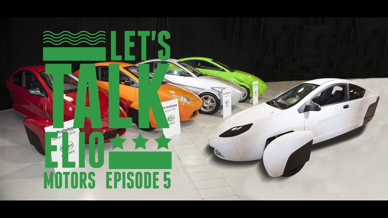 Let's Talk Elio Motors #5 We Look at the Polaris Slingshot