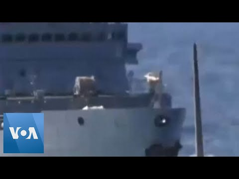 US Ship Has Encounter With Russian Vessel in Middle East