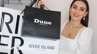 Transitional Spring Try-On Haul ASOS, River island and more! | Peexo