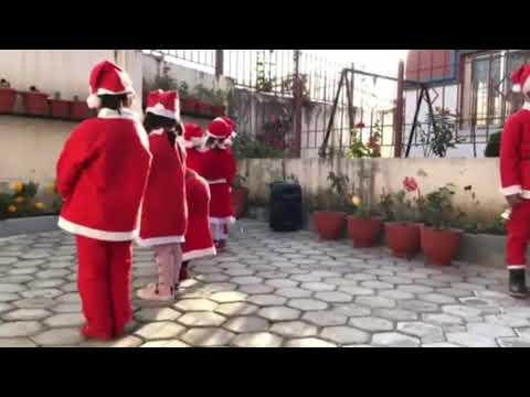 Merry Christmas 2018 @ TINY TOWN PRE SCHOOL, MANBHAWAN