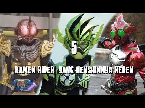 5 Kamen Rider Yang Henshinya Keren