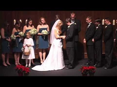 Thomas Gibson, Hannah Hoffman Wedding 12/30/2011