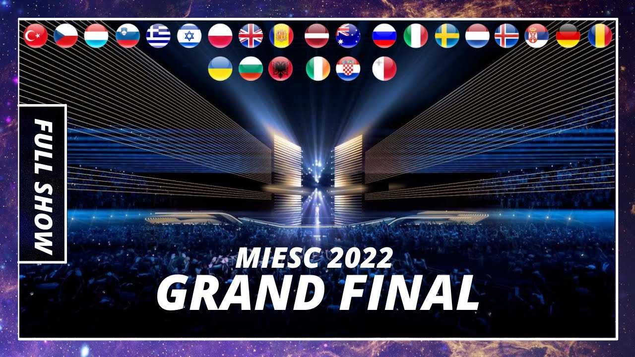 GRAND FINAL - RESULTS   MY IDEAL EUROVISION SONG CONTEST 2022  (MIESC)