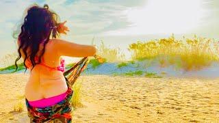 Kawakeb 🏖AM bikini beach dance vlog
