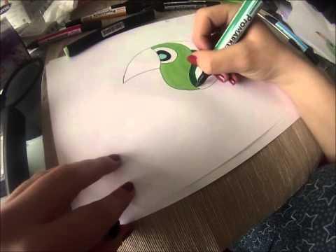 Dessiner un oiseau facilement youtube - Comment dessiner un oiseau facile ...