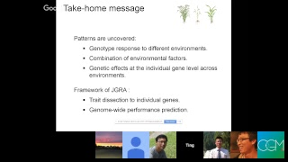 CGM 第34期:基因和环境因子共同解析表型可塑性(Phenotype plasticity)