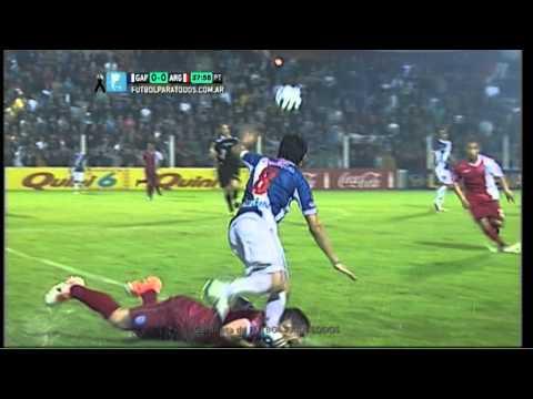 Tremenda lesión de Lucas Rodríguez.Fecha 6.Primera B Nacional.Fútbol Para Todos