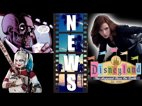 Black Mask for Gotham City Sirens? Black Widow meet & greet at Disneyland 2017