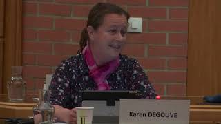 Karen Degouve, intervention au Conseil Municipal du 10 mars 2021