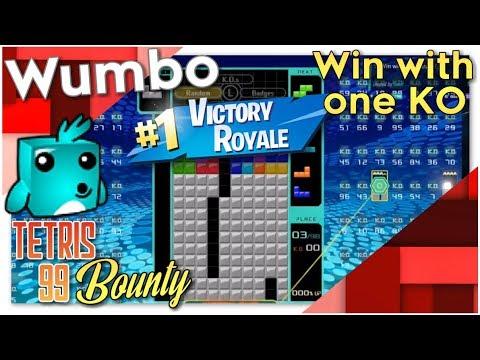 """Tetris 99 Bounty - """"win with exactly 1 ko"""""""