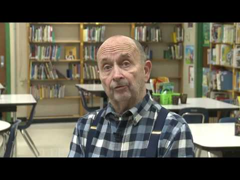 Gary Zimmerman, Sharpe Ele Principal - 45 Years of Service!