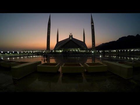 Faisal Masjid Islamabad 4K -Most Beautiful Azan