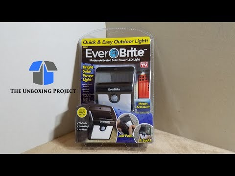 Bright Enough To Light Up The Backyard? | Ever Brite Solar Light Real World Review