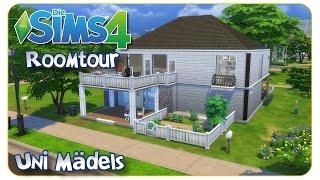 Die Sims 4: Roomtour - Uni Mädels - Die Sims 4 Creative Mode
