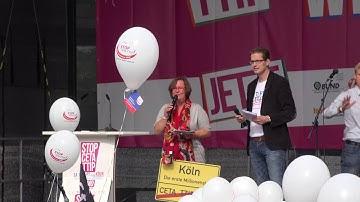 LIVE - TTIP-Demo in Köln am 17.09.2016 | UNCUT-Version
