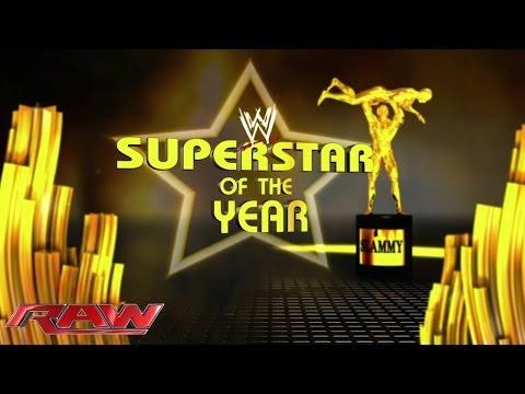 Superstar of the Year: 2013 Slammy Award Presentation